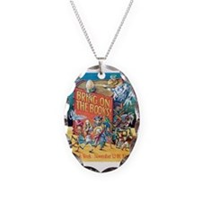 1984 Childrens Book Week Necklace Oval Charm