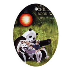 2010 Childrens Book Week Oval Ornament