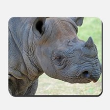 Black Rhino Panel Print Mousepad
