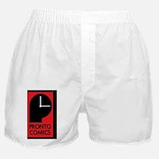 Pronto Comics Logo Boxer Shorts
