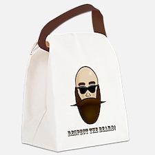 Respect the Beard! Canvas Lunch Bag