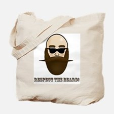 Respect the Beard! Tote Bag