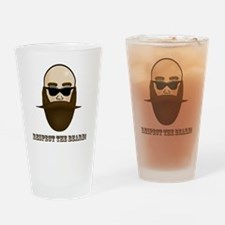 Respect the Beard! Drinking Glass
