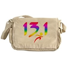 Rainbow 13.1 half-marathon Messenger Bag