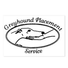 Greyhound Placement Servi Postcards (Package of 8)