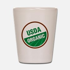 USDA Organic Shot Glass