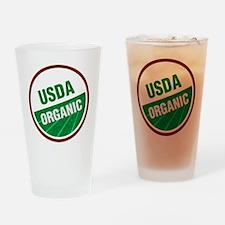 USDA Organic Drinking Glass