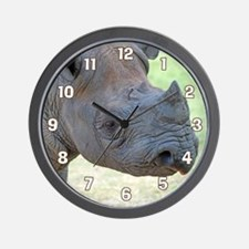 Black Rhino Large Clock Wall Clock