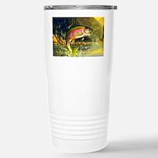 Jumping Rainbow Trout Travel Mug