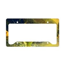 Jumping Rainbow Trout License Plate Holder