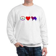 Peace, Love, American Eskimo Jumper