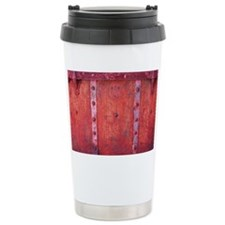 Steampunk Trunk Claret  Travel Mug