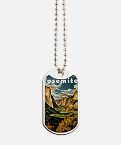 Vintage Yosemite Travel Dog Tags