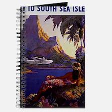 Vintage South Sea Isles Travel Journal