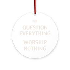 q-evrythng-DKT Round Ornament