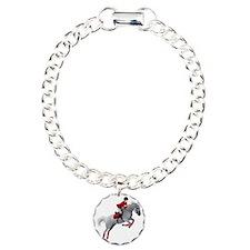 Dressage 2 Charm Bracelet, One Charm