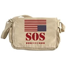 America SOS Messenger Bag