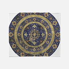 Persian Mandala Throw Blanket