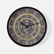 Persian Mandala Wall Clock