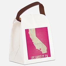 I LOVE LA Canvas Lunch Bag