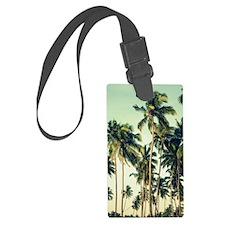 Palm Trees Luggage Tag