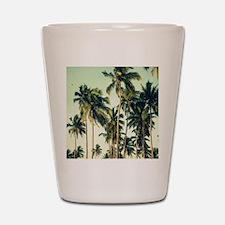 Palm Trees Shot Glass