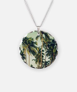 Palm Trees Necklace