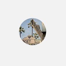 Sunset Blvd 9600 Mini Button