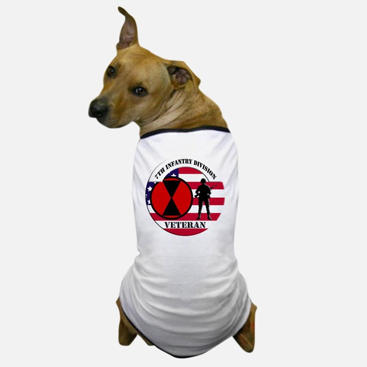 7th Infantry Division Dog T-Shirt