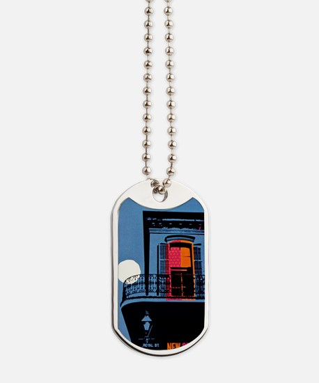 Vintage New Orleans Travel Dog Tags