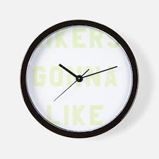 Likers Gonna Like Wall Clock