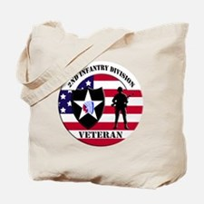 2nd Infantry Division Tote Bag