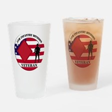 5th Infantry Division Drinking Glass