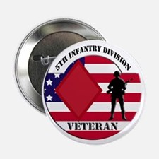 """5th Infantry Division 2.25"""" Button"""