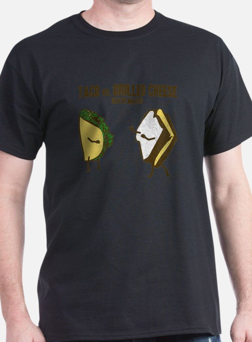 Taco VS Grilled Cheese T-Shirt