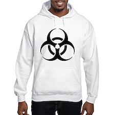 biohazard black Hoodie