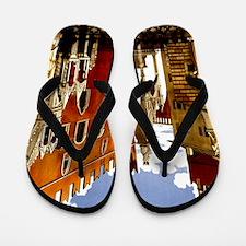 Vintage Verona Italy Travel Flip Flops