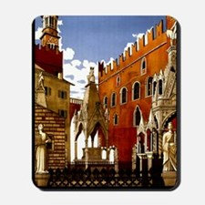 Vintage Verona Italy Travel Mousepad