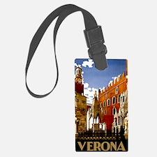 Vintage Verona Italy Travel Luggage Tag