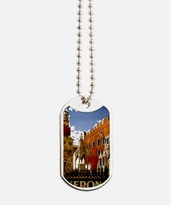 Vintage Verona Italy Travel Dog Tags