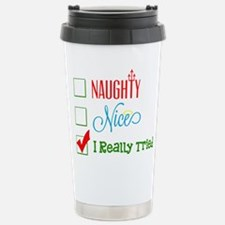 I Really Tried... Travel Mug