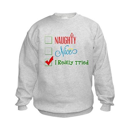 I Really Tried... Sweatshirt