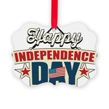 Happy Independence Day Ornament