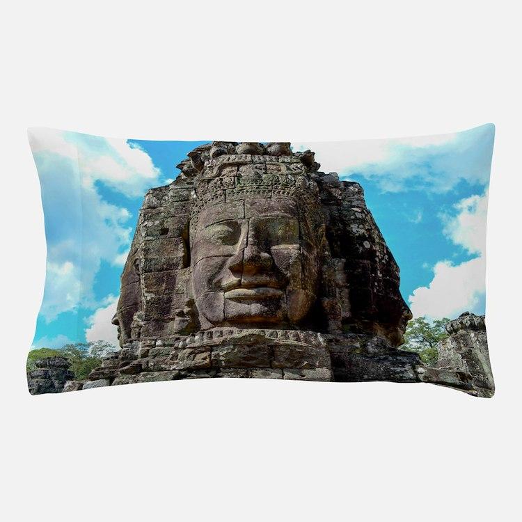 Smiling Buddha Pillow Case