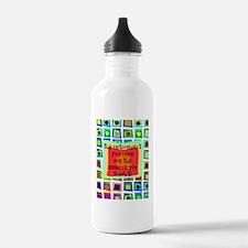 RT Quote Blanket Water Bottle