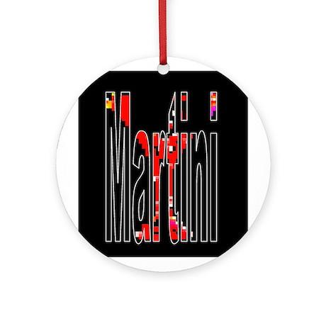 Martini Keepsake (Round)