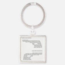 MONTANA RAY : Guns and Butter Square Keychain