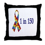 1 in 150 Throw Pillow