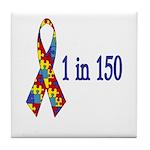 1 in 150 Tile Coaster