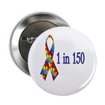 1 in 150 Button